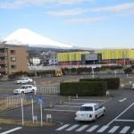 コースと富士山